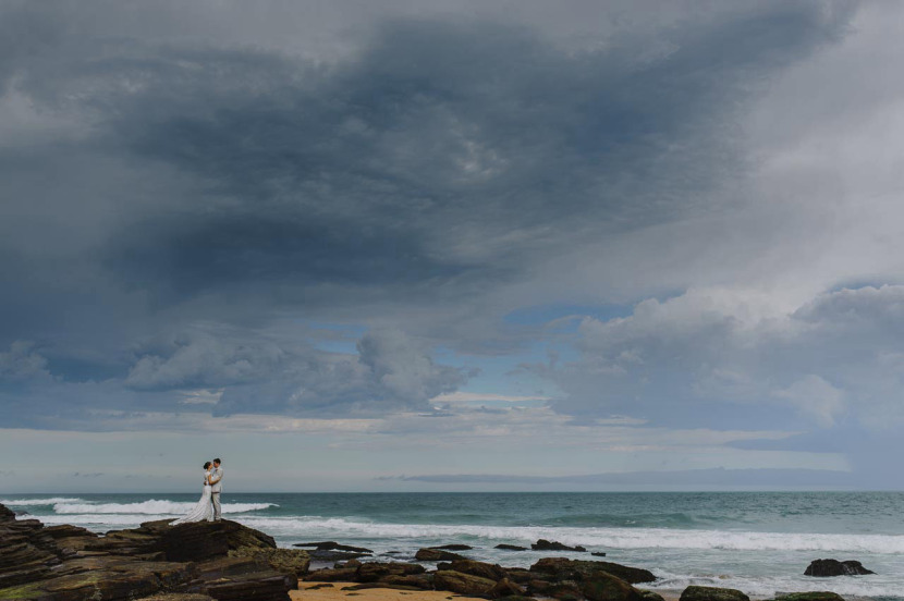 bride-groom-wedding-portrait-narrabeen-beach