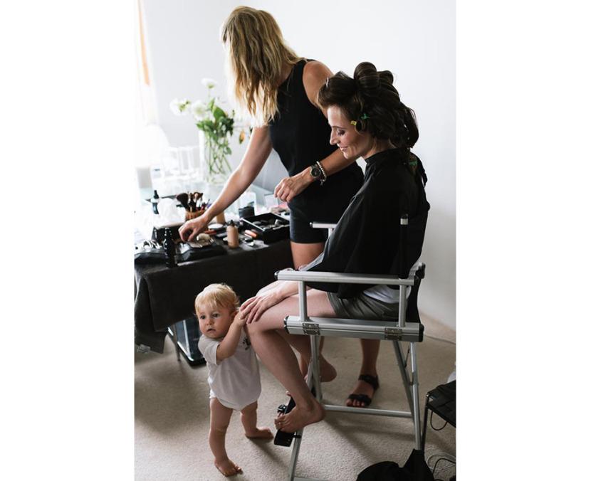 boy-and-mum-wedding-makeup