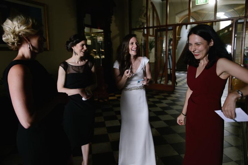 bridal-party-laughing-inside-icms-manly