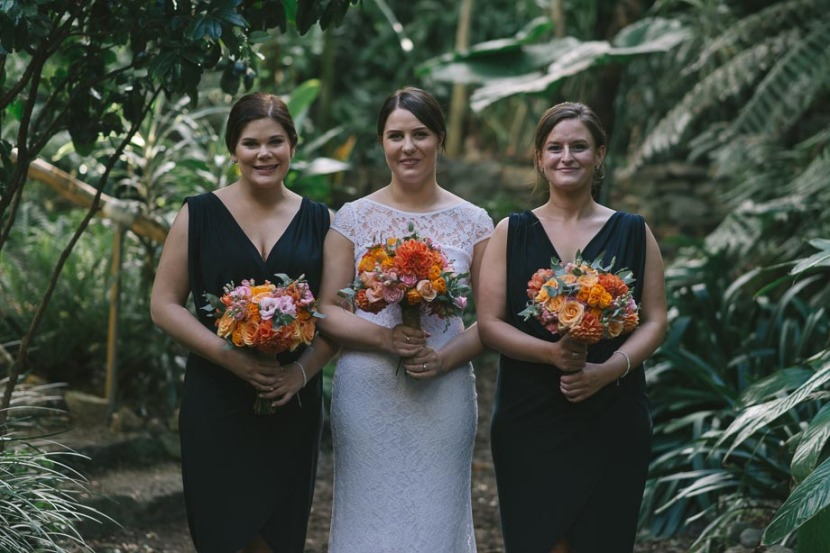bride-and-bridesmaids-in-trees