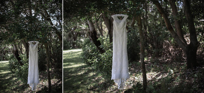 wedding-dress-hanging-in-manly-trees