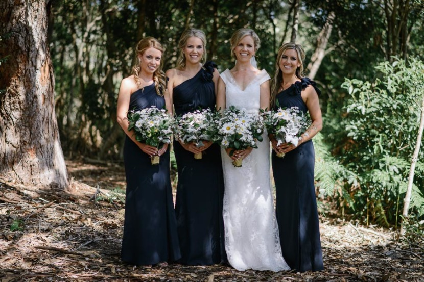 bride-and-bridesmaids-with-flowers