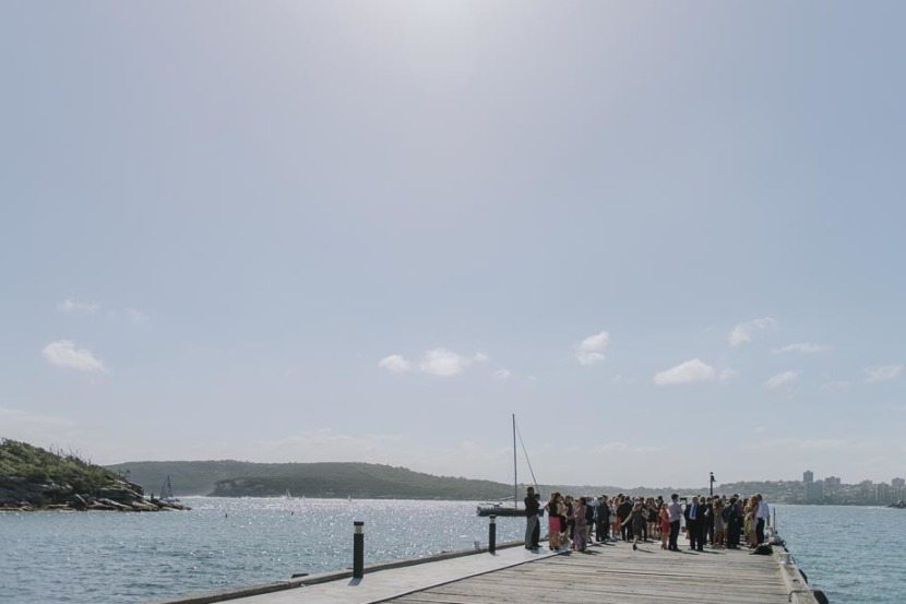 wedding-guests-on-manly-q-station-wharf