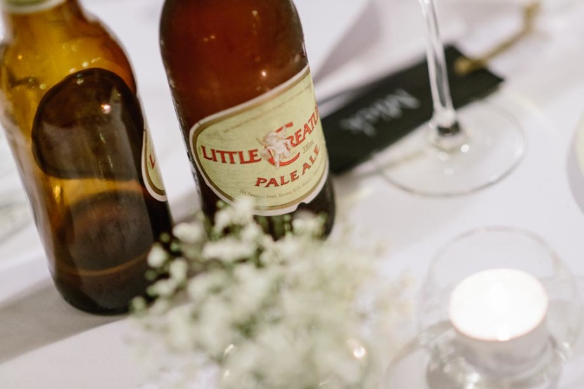 bottle-beer-on-wedding-table