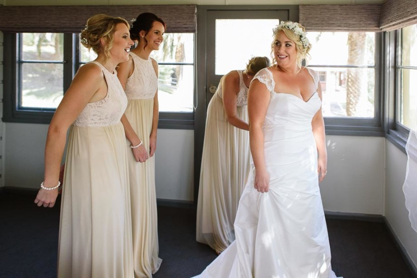 bride-and-bridesmaids-in-wedding-dresses