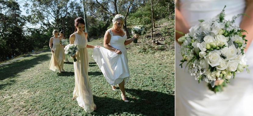 bride-walking-in-wedding-dress