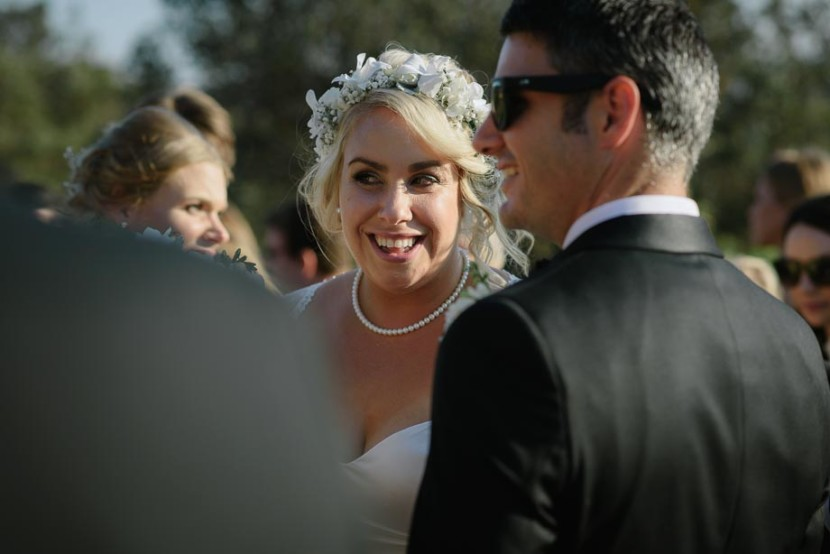 bride-laughing-wedding-ceremony-manly-q-station