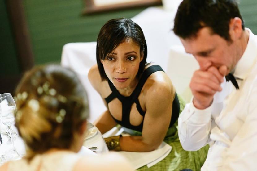 woman-talking-at-wedding-reception