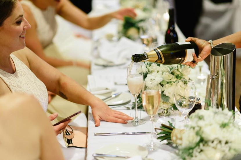 bridesmaid-having-champagne-poured