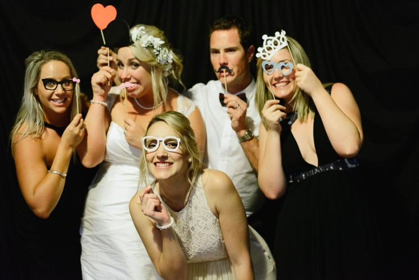 women-at-wedding-photo-booth