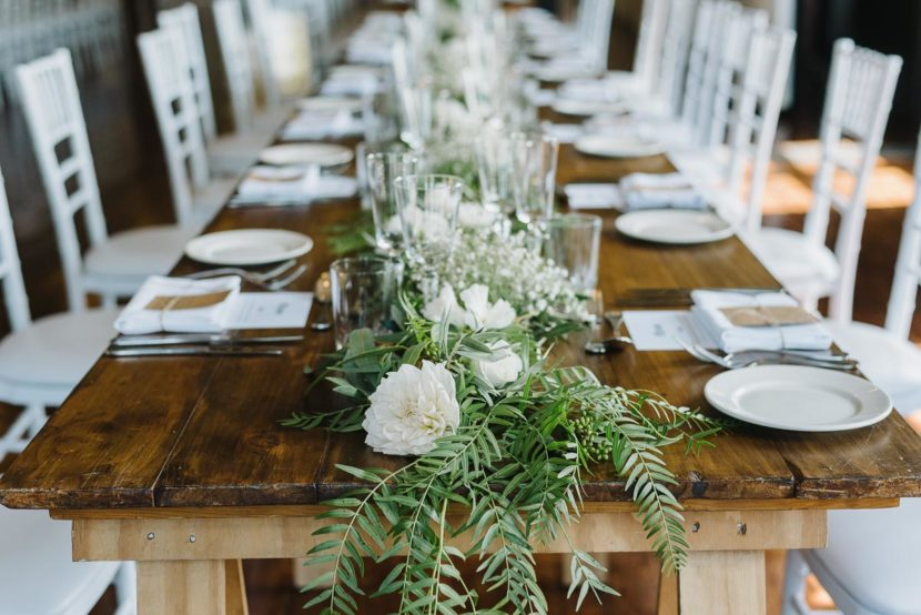 wedding-flowers-on-table-manly