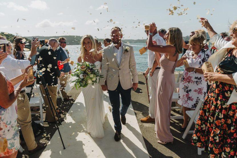 bride-groom-walking-downailse