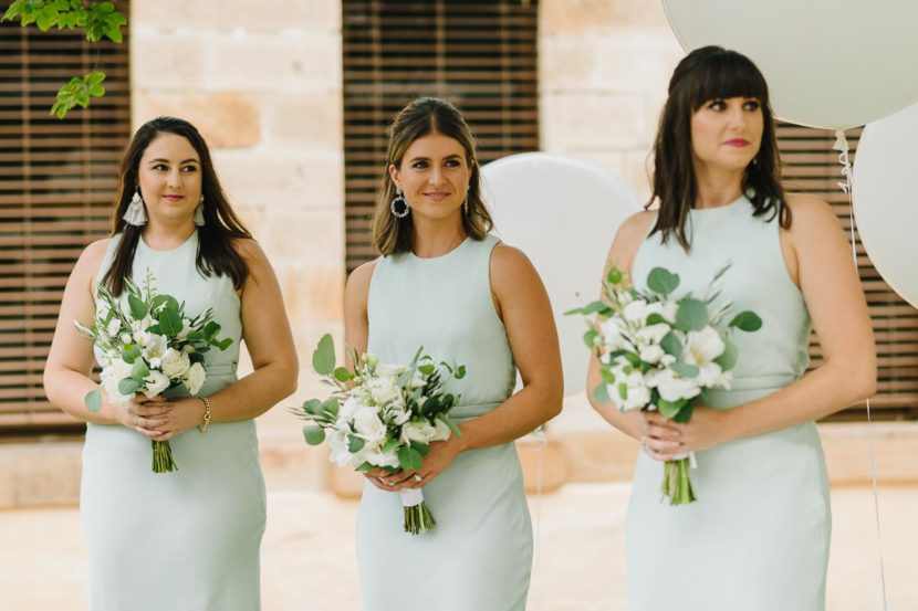 bridesmaids-at-wedding-ceremony-sydney-mint