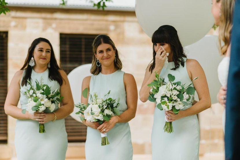 crying-bridesmaids-at-wedding-ceremony-sydney-mint