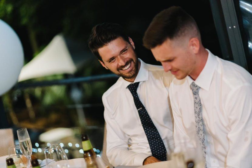 groom-laughing-during-wedding-speech-sydney