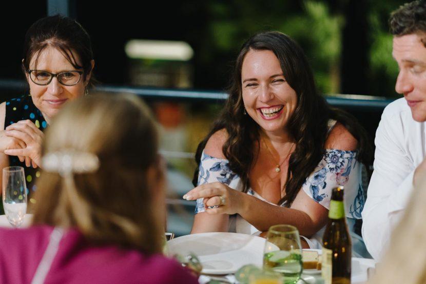laughing-woman-sydney-botanical-gardens-restaurant-wedding