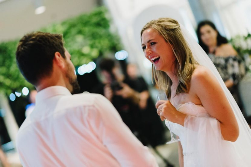 bride-laughing-during-wedding-speech-sydney