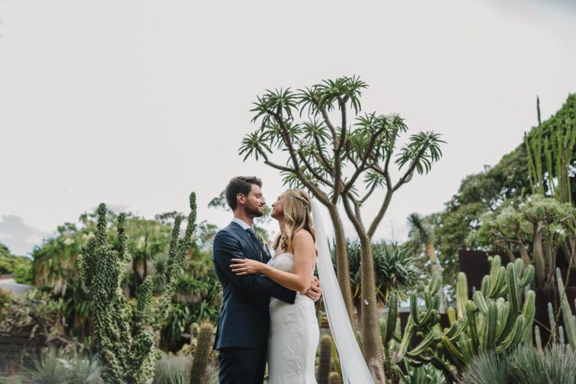 bride-groom-wedding-portrait-cactus-garden-sydney
