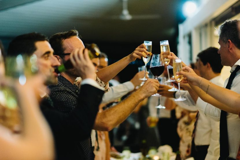 wedding-guests-making-toast